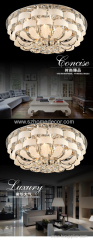 2017 ceiling chandelier of various colors ceiling lights with acrylic beads lamp NS-120250