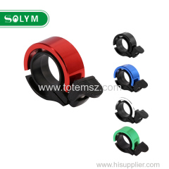 Mini Alumínio Alloy Invisible Bicicleta Bell Loud Road Bike Handlebar Ring Bells Q CNC Environmental MTB Ciclismo Alarme Ho