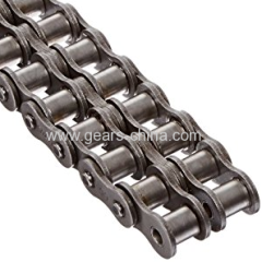 Industrial short pitch maintenence free precision roller chains bushing chains