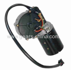 High torque small size dc gear motor for electric value with 1500rpm at 12V