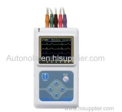 Medical instrument ECG machine Patients with heart detector Dynamic ECG Systems