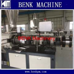 PVC water supply pipe extrusion line