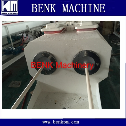 16-40mm double out electrical pvc pipe making machine