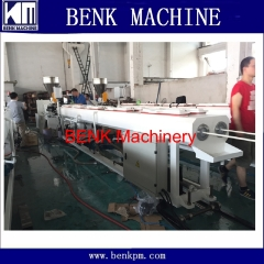 plastic pvc electric conduit pipe making machine