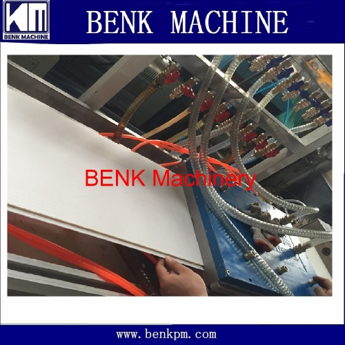 pvc profile extrusion machine manufacture