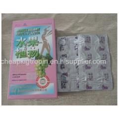 Pink Fruta planta weight loss capsules weight loss tea coffer pills natural weight loss product