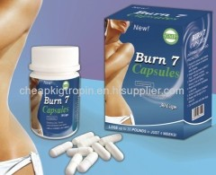 Burn 7 Capsules weight loss capsules weight loss tea coffer pills natural weight loss product