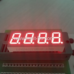 "4 digit 0.4"" red led display; 4 digit 0.4"" red 7 segment"