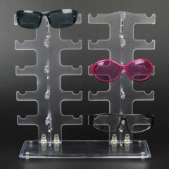 Plastic Glasses Sunglasses Display Stand Rack Holder