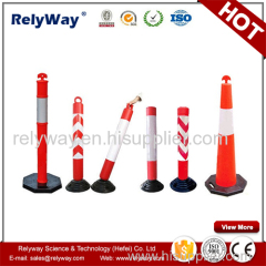 Road Safety Plastic Warning Post