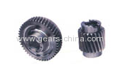 Go kart manual transmission helical gear