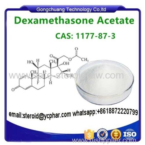 Dexamethasone Glucocorticoid Steroid powder Dexamethasone Acetate Steroid Hormone