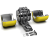 china manufacturer Asia Standard Chain Coupling suppliers