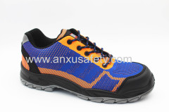 AX02008 Nonwoven upper and rubber outsole safety shoes