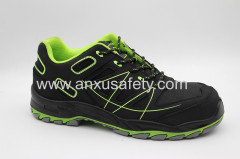AX02011 nubuck upper safety shoes