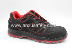 CE EN20345 nubuck upper safety shoes