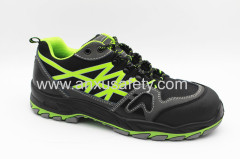 AX02012 pu/rubber outsole safety footwear