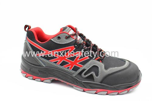 CE EN 20345 nubuck upper safety shoes