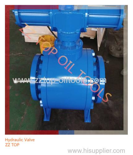 Oilfield Wellhead Hydraulic Operating Ball Valve