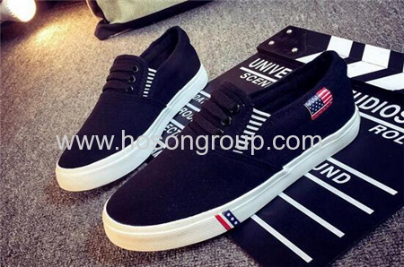 Clip on casual canvas girl shoes