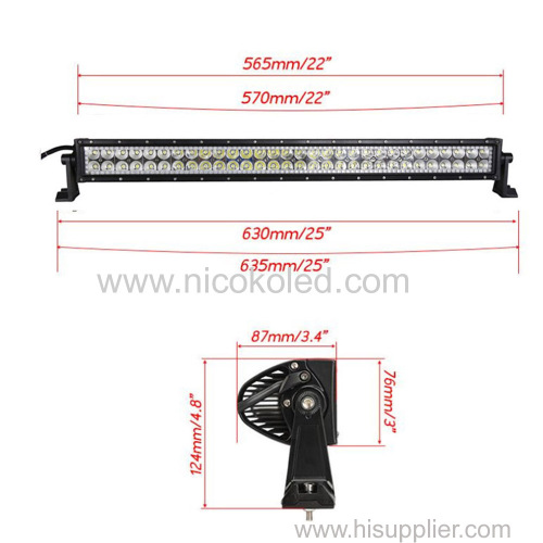 Nicoko 22 120W Chasing RGB Halo LED work Light Bar Curved Head Lamp by Bluetooth Control for Off Road truck car 4x4