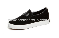 Round toe fashion canvas casual shoes