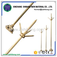 High Quality Copper Lightning Rod Arrester For Lightning Protection
