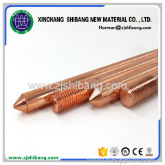 Copper Clad One-side Threaded Ground Rod