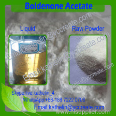Hormone Steroid raw powder Boldenone Acetate 100mg/ml Boldenone acetate injection oil 846-46-0
