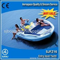 SANJ top sales Jet ski boat personal watercraft waterscooter boat