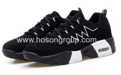 Boys and girls lace sports shoes