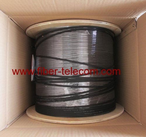 4fibers FTTx Fiber Drop Cable with FRP Strength member