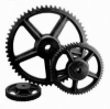 standard double cast iron chain sprocket 3/8