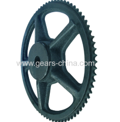 china manufacturer cast iron sprocket