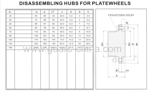 hub sprocket Z=80.08B2 duplex 1/2  Pilot bore. Yellow zinc plated