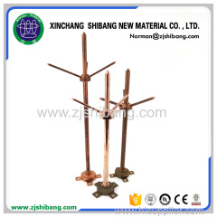 High voltage earthing system copper lightning rod