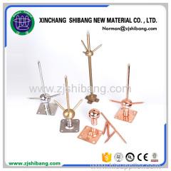 Copper lightning rod modern lightning protection