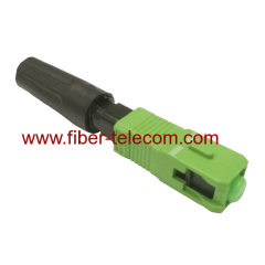 SC Fiber To The Home field assembly Connector
