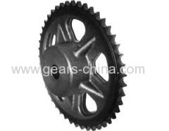 Good Quality Casting Iron Painted Sprocket