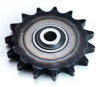 steel transmission idler sprocket for roller chain