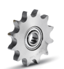 """P8X1/8"""" tooth 23 Conveyor Chain Idler Sprockets with Ball Bearings"""