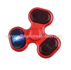 Hand Spinners LED Light With Bluetooth Wireless Speaker Anti-Stress TF Card Finger Gyro Tri Fidget Spinners EDC Hand Toy