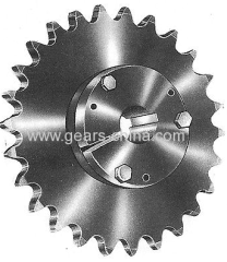 High quality with best price customized sprocket QD bushed sprocket