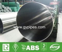Material Inox Tubo de aço inoxidável de parede fina