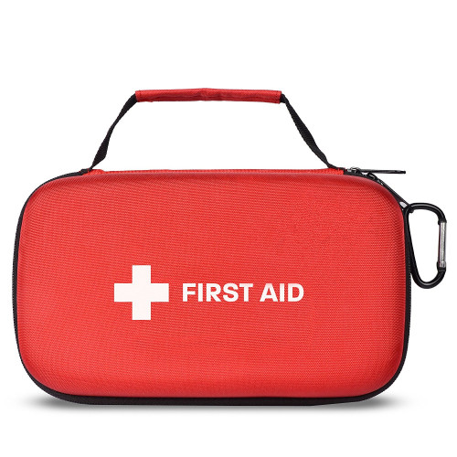 First Aid Kit with Hard Carry Case