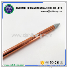 Copper Bonded Electrode For Lightning Protection Zones