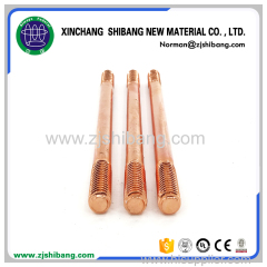 Solid Copper and Stainless Steel Ground Rod