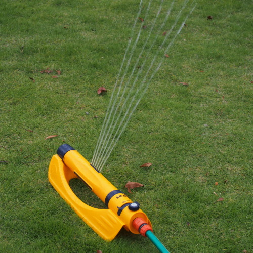 Outdoor garden water 19-hole oscillate sprinkler