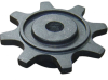 cast steel Double pitch roller chain sprocket