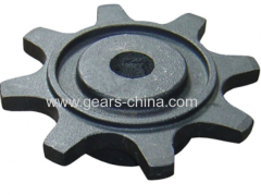 Aluminum chain sprocket double pitch sprockets With Good After-sale Service